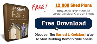Free Shed Plans 12 X 32 : Diy Shed - A Step By Step Plan To Build Your Own Shed