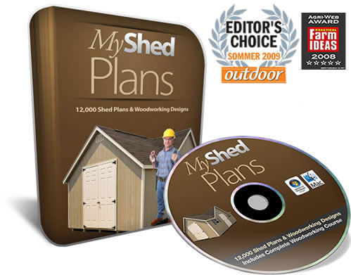MyShedPlans -Insane Conversions!(75%)+1Click Upsell!-12,000 Shed Plans