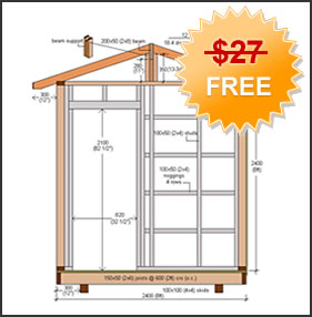Free Shed Plans Blueprint