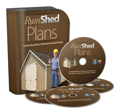 Ryan Shed Plans Banner