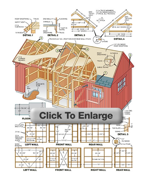 How To Build A Shed - Building A Garden Shed, Storage Shed