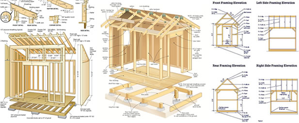 plans for outdoor shed