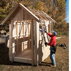 How To Build A Shed In Half The Time