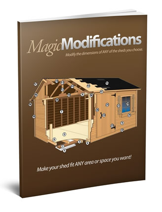 magic modifications sheds