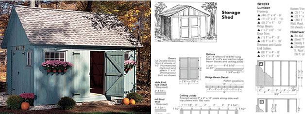 Free Shed Plans Elite Large